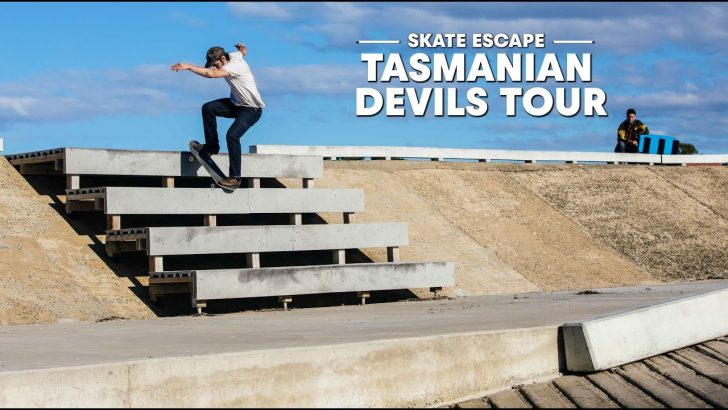 18638Tasmania Got Skate Spots? | SKATE ESCAPE||7:46