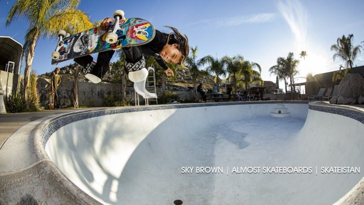 18712Sky Brown x Skateistan Board by Almost Skateboards||3:07
