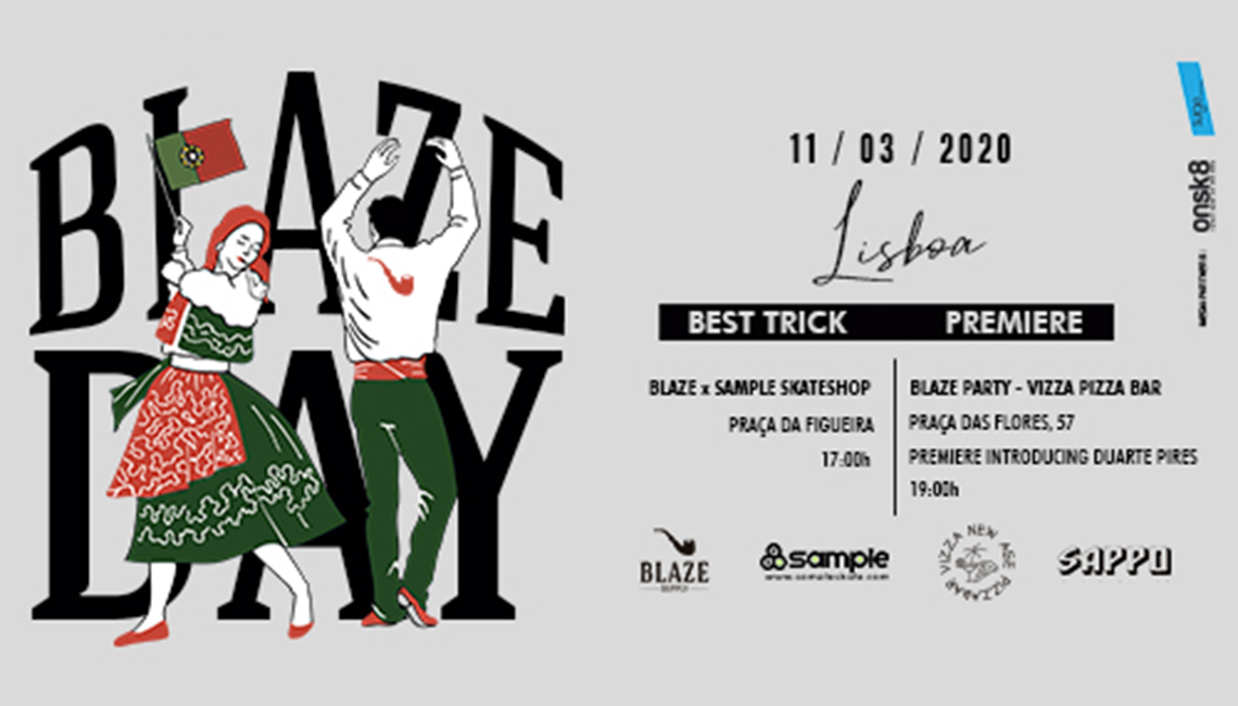 18886Blaze day|Duarte Pires video part Premiere dia 11/03 Lisboa