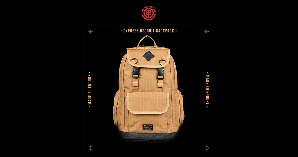 19225Element – Mochila Cypress Recruit