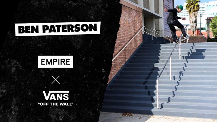 "19320Ben Paterson ""Empire x Vans""