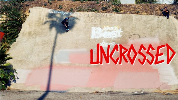"19607Deathwish Skateboards ""UNCROSSED""