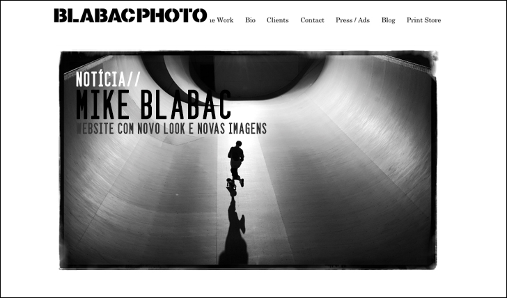 1093Mike Blabac lança novo website