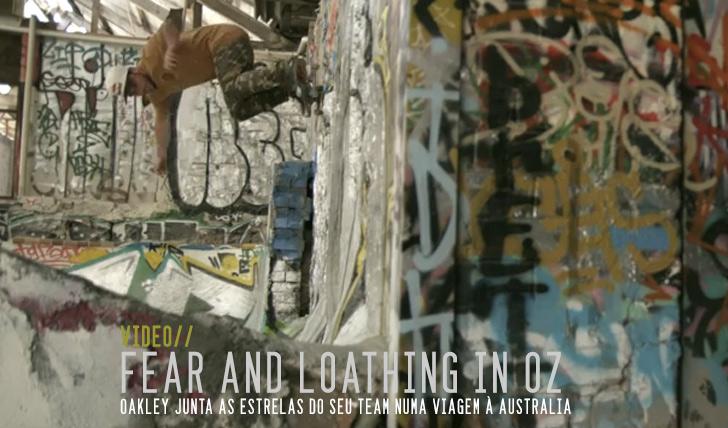 1533Fear and Loathing in Australia | Oakley Skate in Oz || 3:55