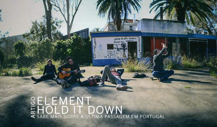2023ELEMENT | Hold it Down | Artigo