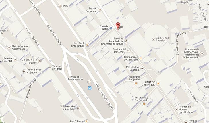 coliseu de lisboa mapa ONSK8 | Portugal coliseu de lisboa mapa