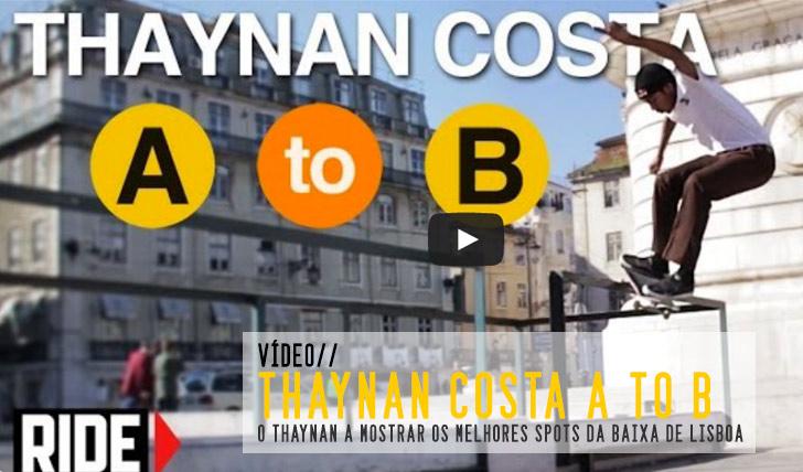 5332Thaynan Costa Skates Lisbon, Portugal – A to B || 3:13