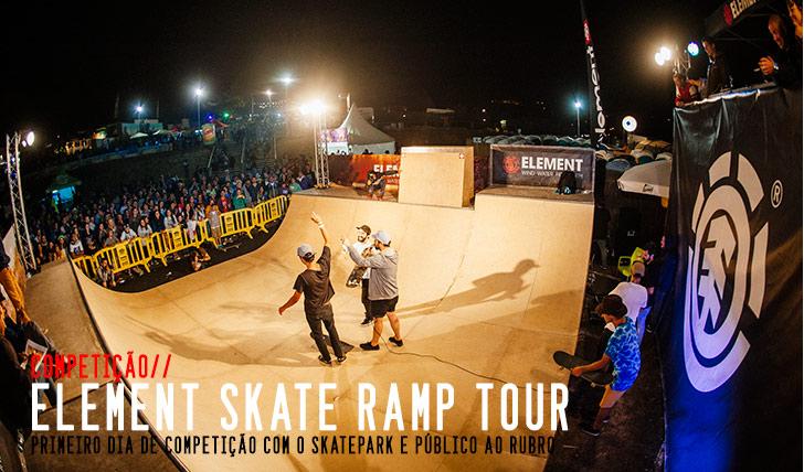 6369ELEMENT Skate Ramp Tour Resumo do 1º dia na Ericeira