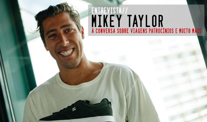 7299DC INITIALS TOUR Mikey Taylor em entrevista