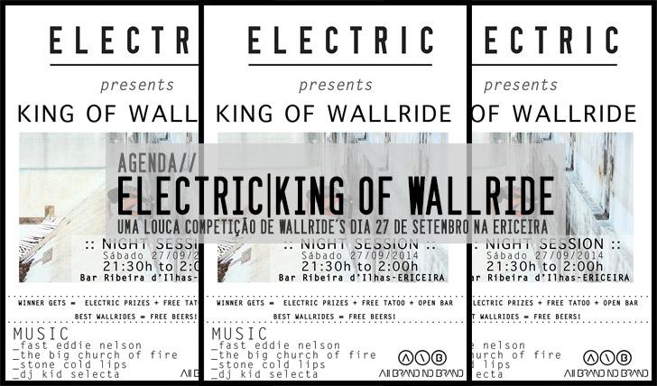 7542ELECTRIC King of the Wallride  27 de Setembro