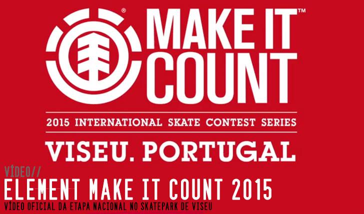 9066ELEMENT Make it Count 2015|Video etapa nacional Viseu||3:13