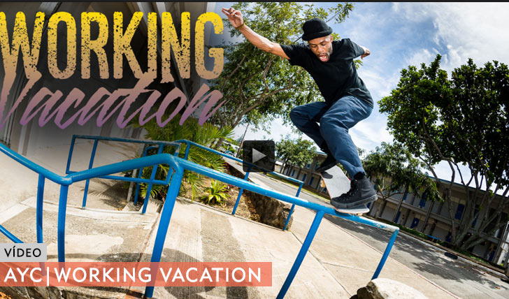 """10703AYC """"Working Vacation"""" Video