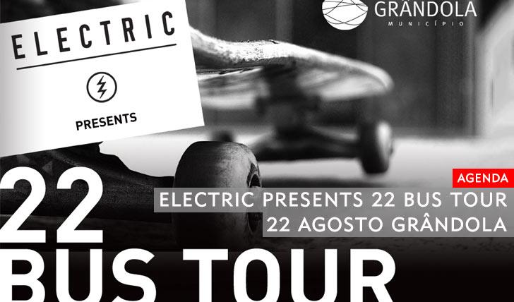 10540ELECTRIC presents 22 BUS TOUR