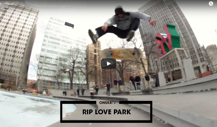 11957R.I.P. Love Park   Philly Loses an Iconic Skate Spot  2:03