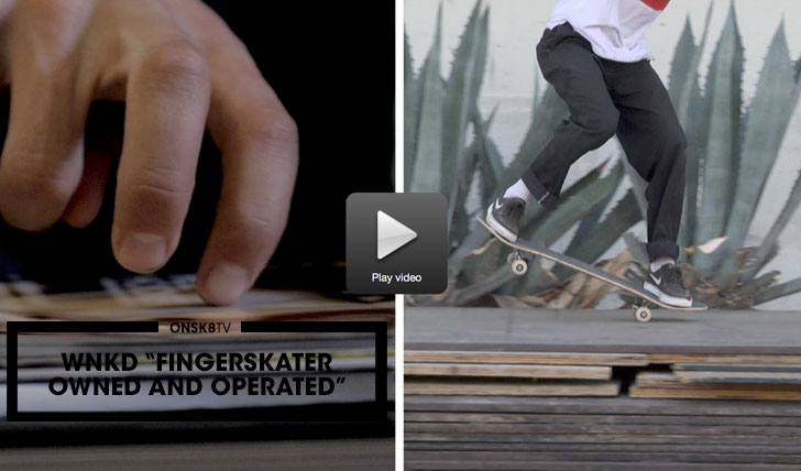 """11897WKND """"Finger Skater Owned and Operated""""  1:54"""