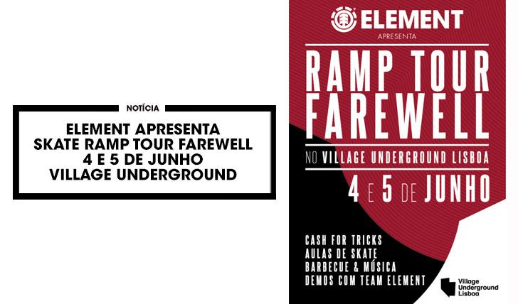 12621ELEMENT Apresenta Ramp Tour Farewell no Village Underground