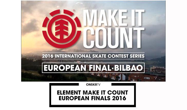 13118ELEMENT Make It Count European Finals 2016  4:47