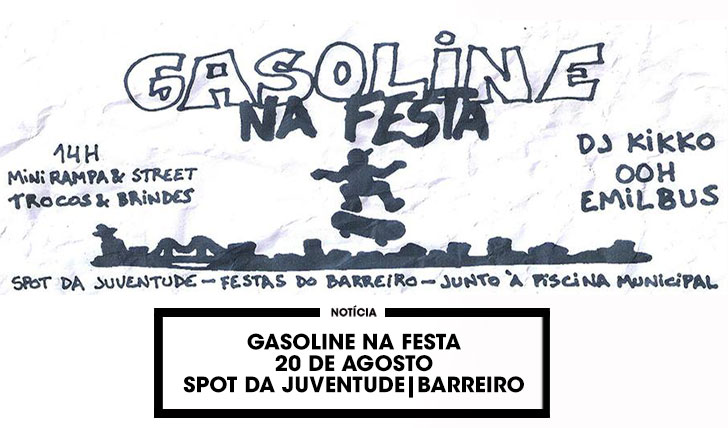 13422Gasoline na Festa 2016|20 de Agosto no Barreiro