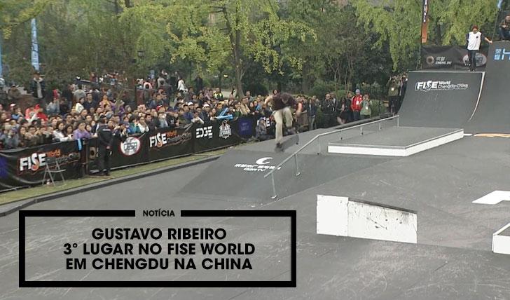13879Gustavo Ribeiro 3ª classificado no FISE World na China