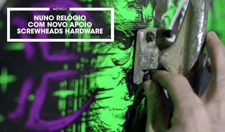 14082Screwheads Hardware   Welcomes Nuno Relógio  1:43