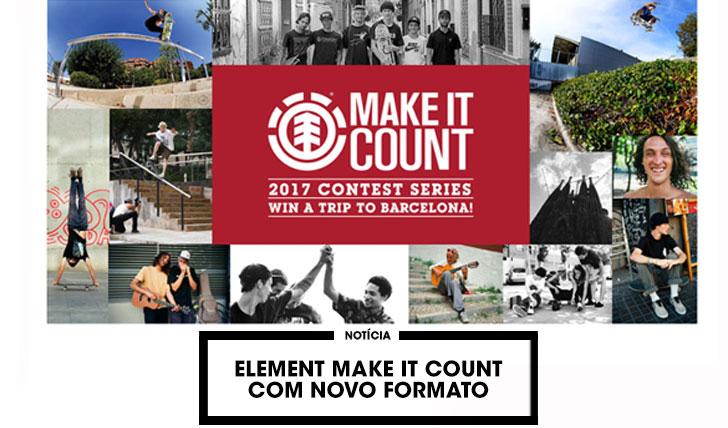 14842Element Make it Count com novo formato