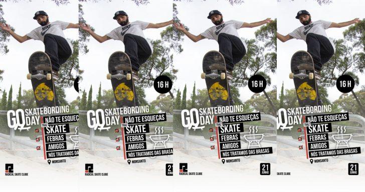16824GO Skateboarding Day em Lisboa|Skatepark do Monsanto