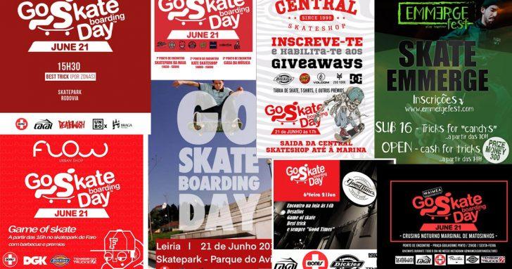 18243GO Skateboarding é já amanhã e há eventos de norte a sul do país