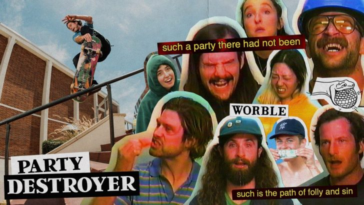 """19079Worble and Cobra Man's """"PARTY DESTROYER"""" 