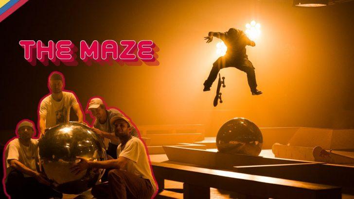 19551RED BULL Skateboarding|The Maze||5:13